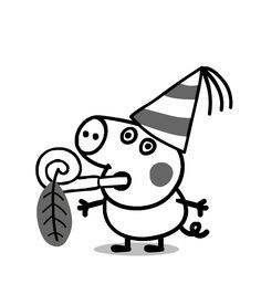 george peppa pig coloring pages george compleanno disegno da colorare gratis pagine da pages coloring george pig peppa