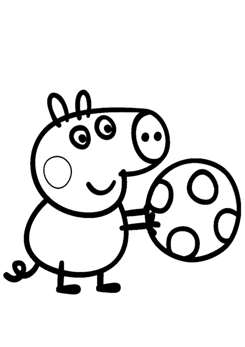 george peppa pig coloring pages peppa pig coloring pages her family and friends print pages coloring pig peppa george