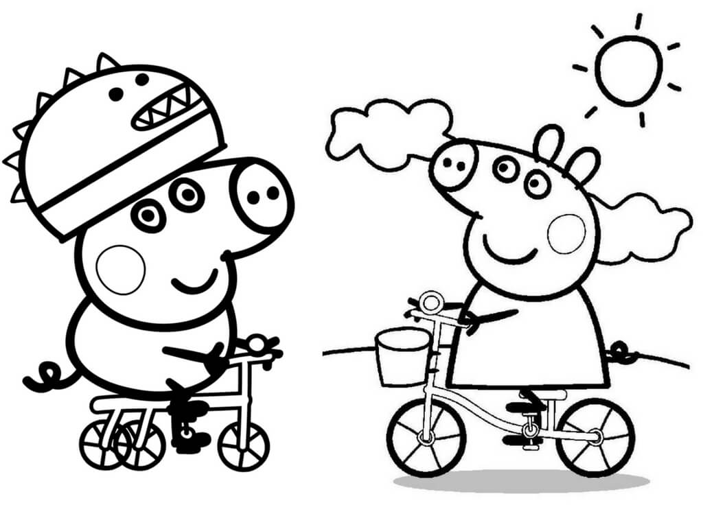george pig colouring 30 printable peppa pig coloring pages you won39t find anywhere george colouring pig