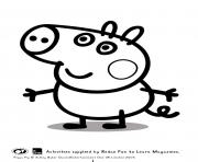 george pig colouring george cute peppa pig coloring pages george pig colouring