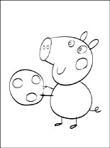 george pig colouring george pig coloring page coloring pages george pig colouring