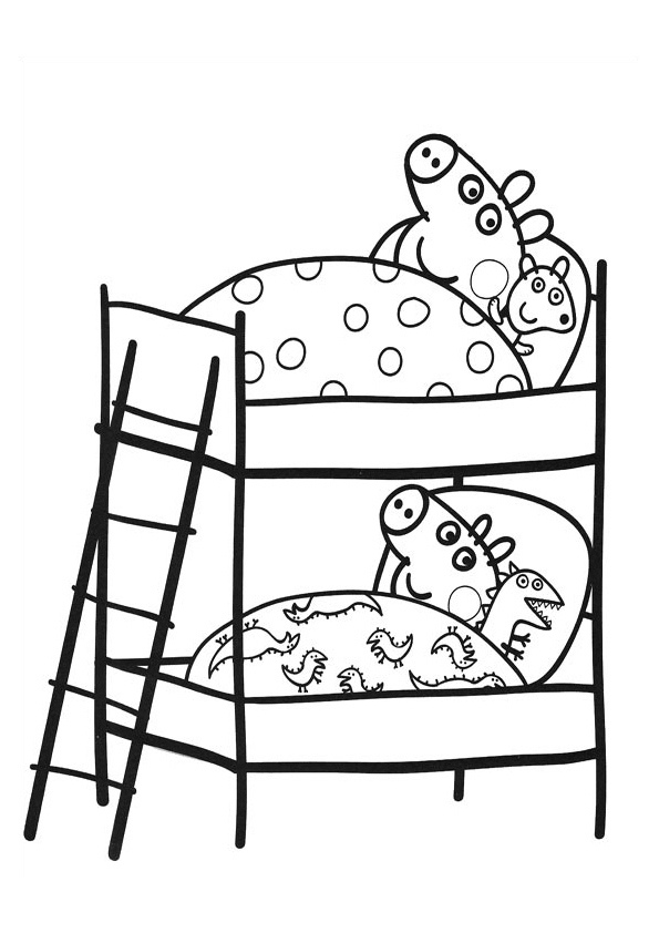 george pig colouring george pig coloring pages for kids pig colouring george 1 1