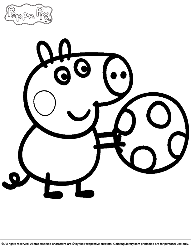 george pig colouring peppa pig coloring pages free download on clipartmag colouring pig george