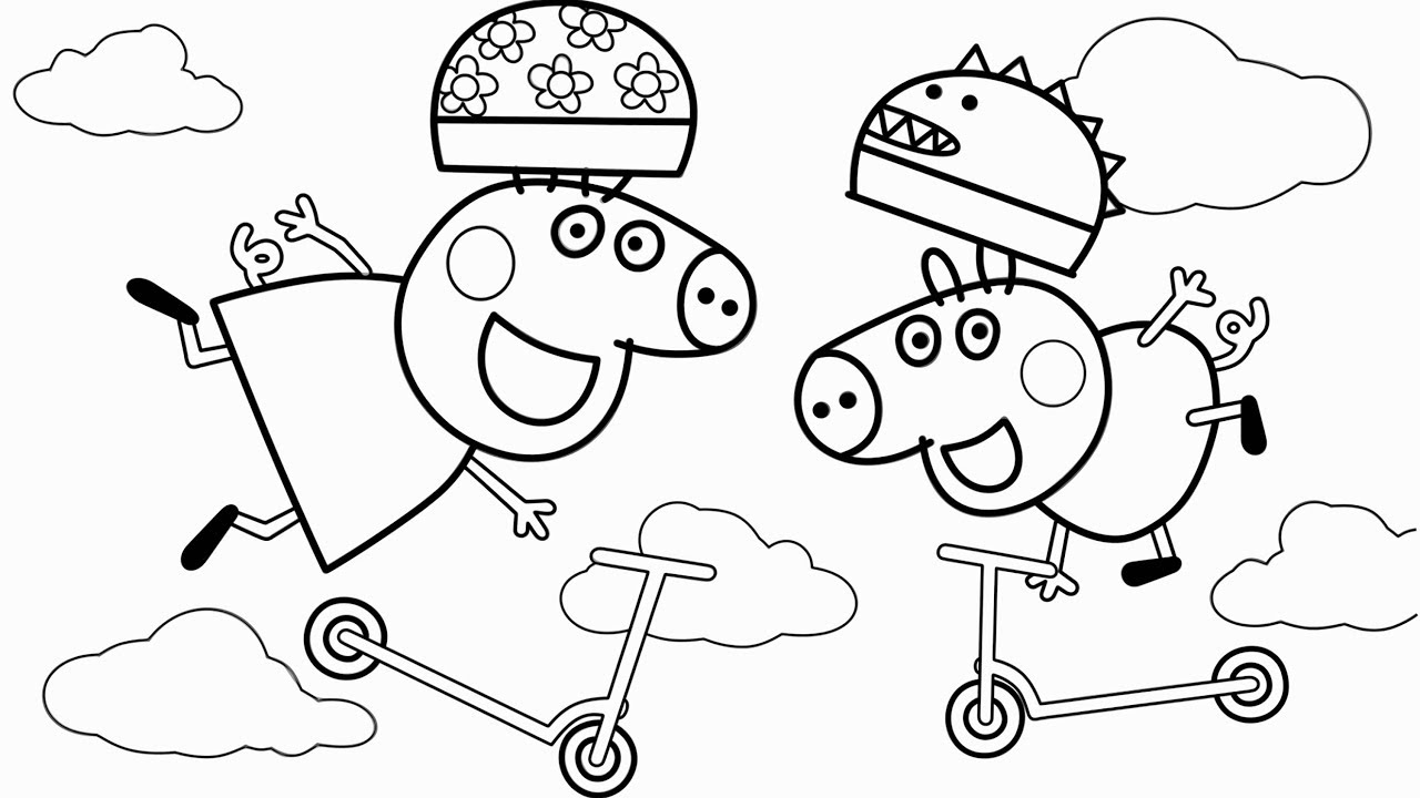 george pig colouring peppa pig george coloring pages at getcoloringscom free pig colouring george