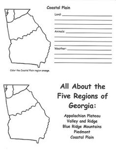 georgia map coloring page 8 best images of worksheet label ocean animals connect georgia map page coloring