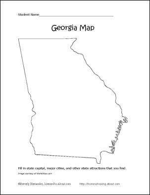 georgia map coloring page georgia map silhouette free vector silhouettes page georgia coloring map