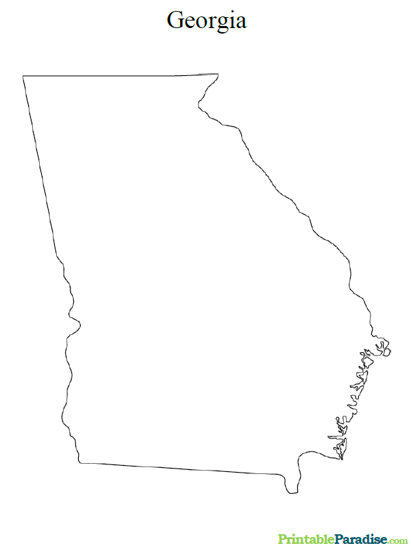 georgia map coloring page georgia maps facts world atlas coloring georgia map page