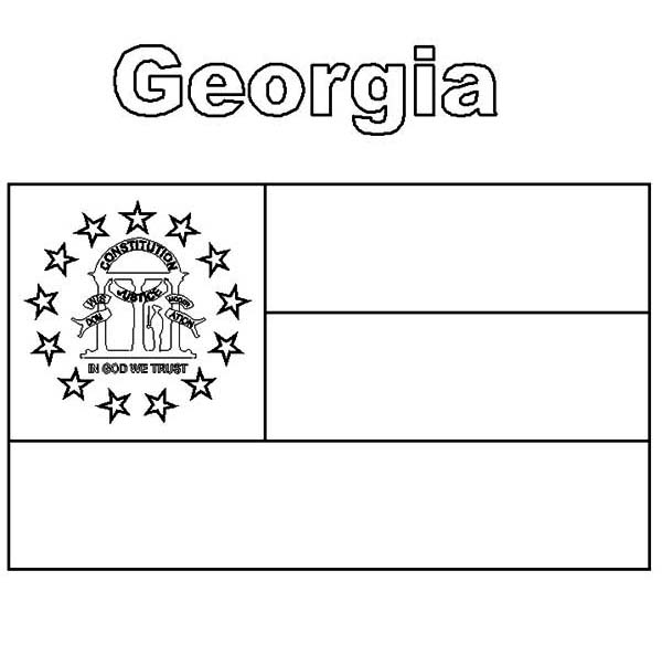 georgia map coloring page georgia state flag coloring page color luna georgia coloring page map