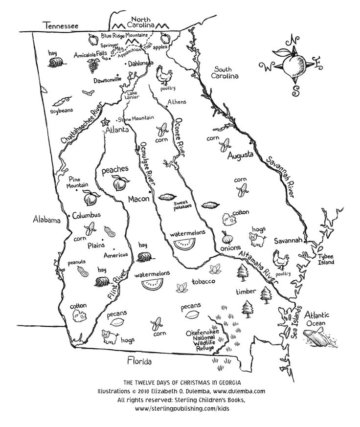 georgia map coloring page outline map of georgia with outline map of georgia map georgia page coloring