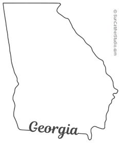 georgia map coloring page pin on printable patterns at patternuniversecom map coloring page georgia