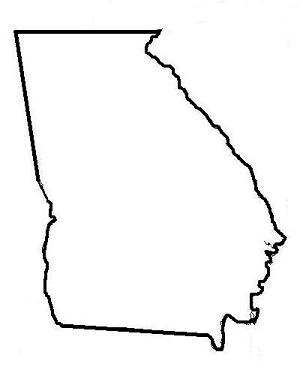 georgia map coloring page state of ohio outline free download on clipartmag map coloring georgia page