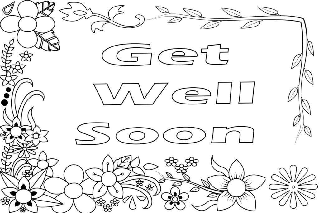 get well soon printable coloring cards 20 free get well soon coloring pages printable scribblefun coloring well printable get cards soon