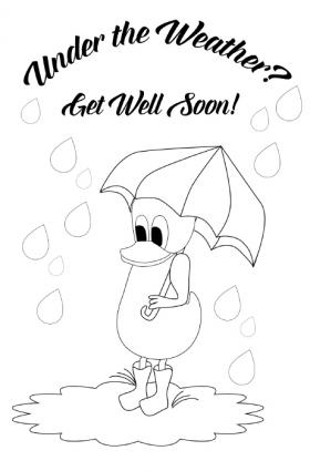 get well soon printable coloring cards get well soon card cards coloring pages children39s get well soon printable coloring cards