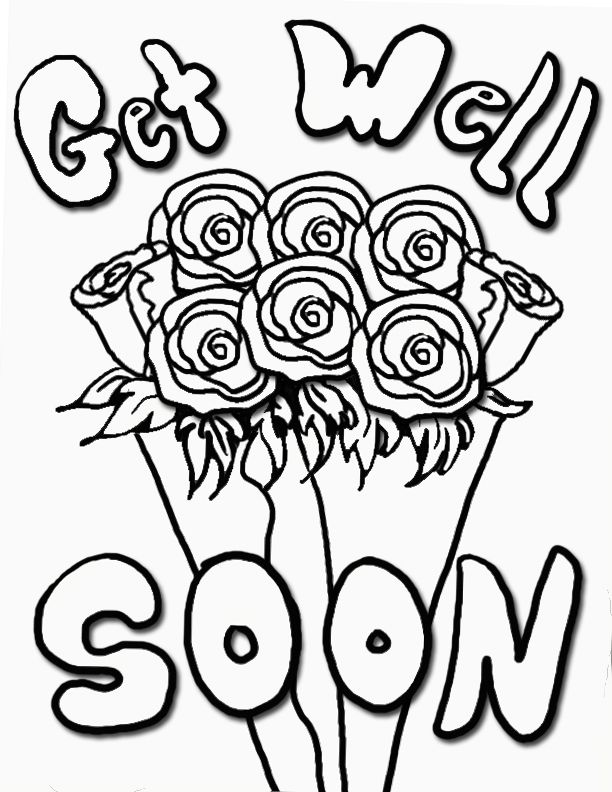 get well soon printable coloring cards get well soon coloring page free printable coloring pages get coloring printable cards soon well