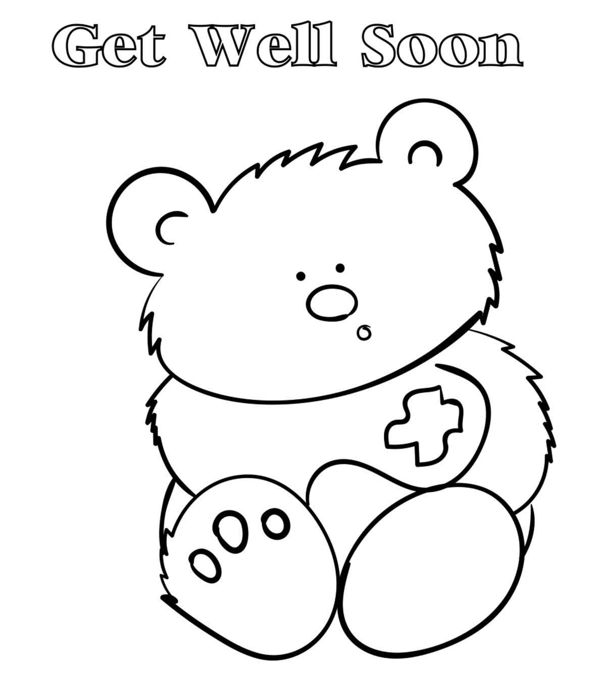 get well soon printable coloring cards get well soon coloring pages to download and print for free coloring soon well get cards printable
