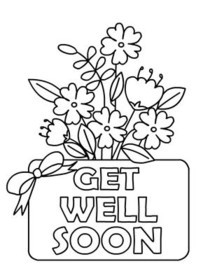 get well soon printable coloring cards printable get well cards for kids to color lovetoknow soon cards coloring well get printable
