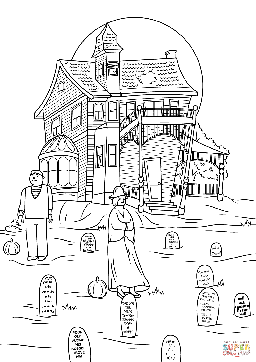ghost house coloring page cartoon haunted house coloring page coloring home page coloring house ghost