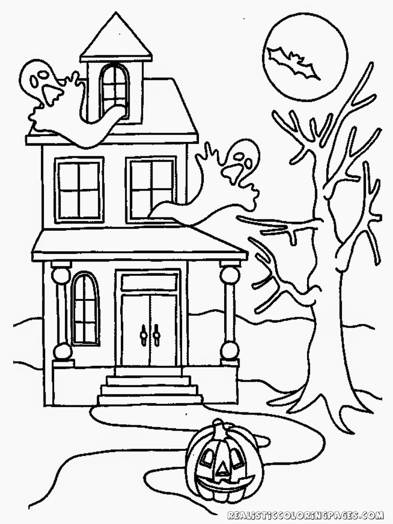 ghost house coloring page haunted house coloring page tim39s printables coloring ghost house page