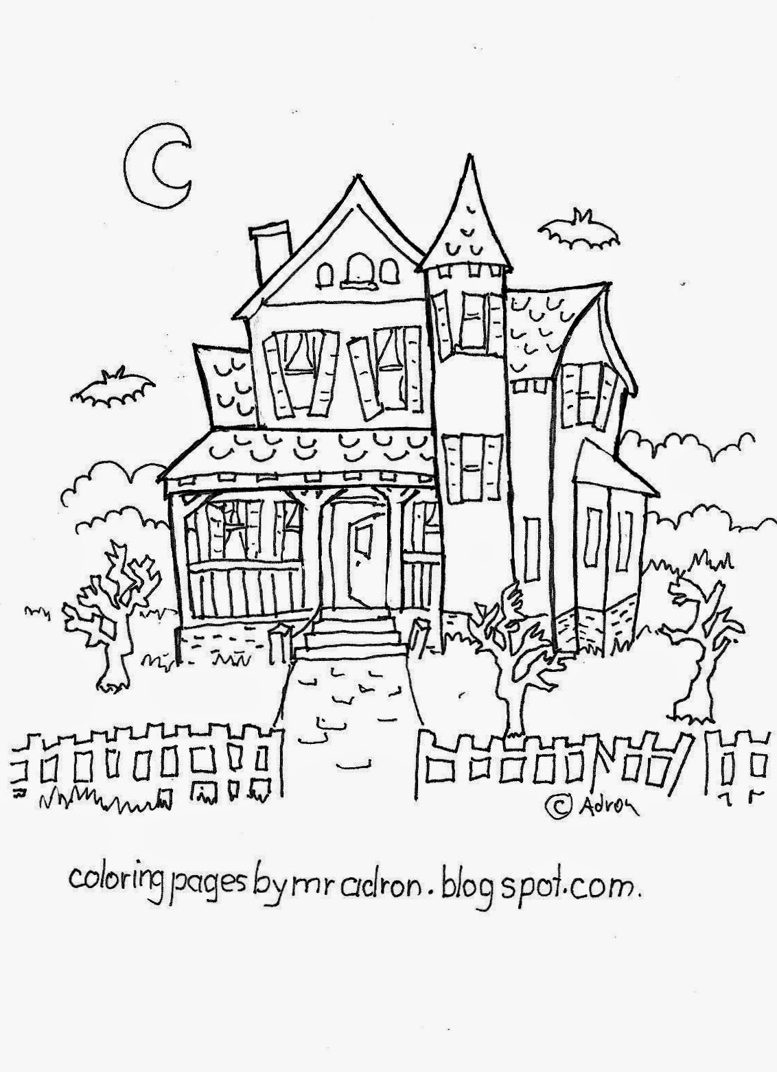ghost house coloring page online free coloring pages for kids coloring sun part 9 coloring house ghost page