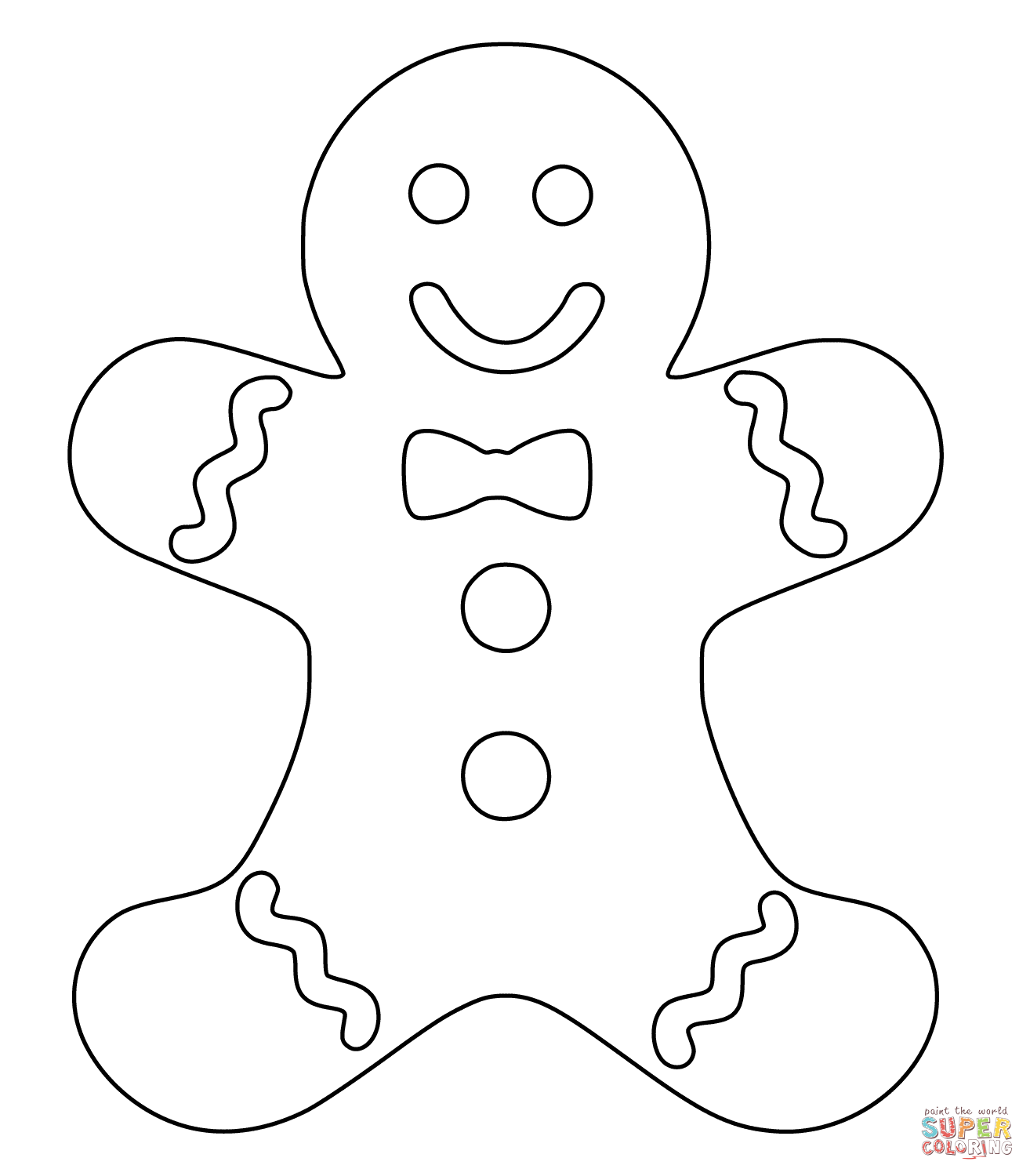 gingerbread man printable gingerbread man coloring pages to download and print for free gingerbread printable man