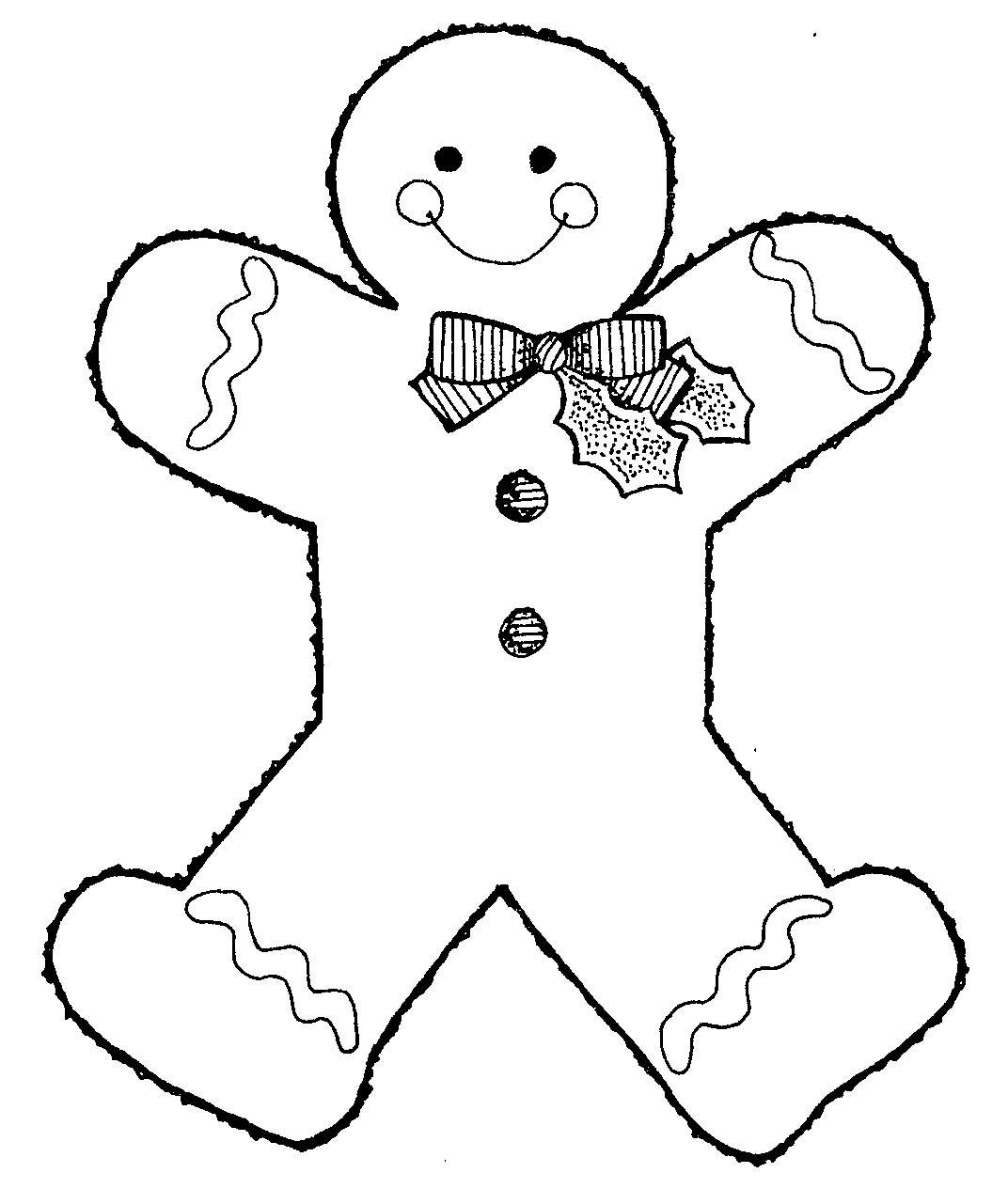 gingerbread outline printable free printable gingerbread man coloring pages for kids printable outline gingerbread 1 1