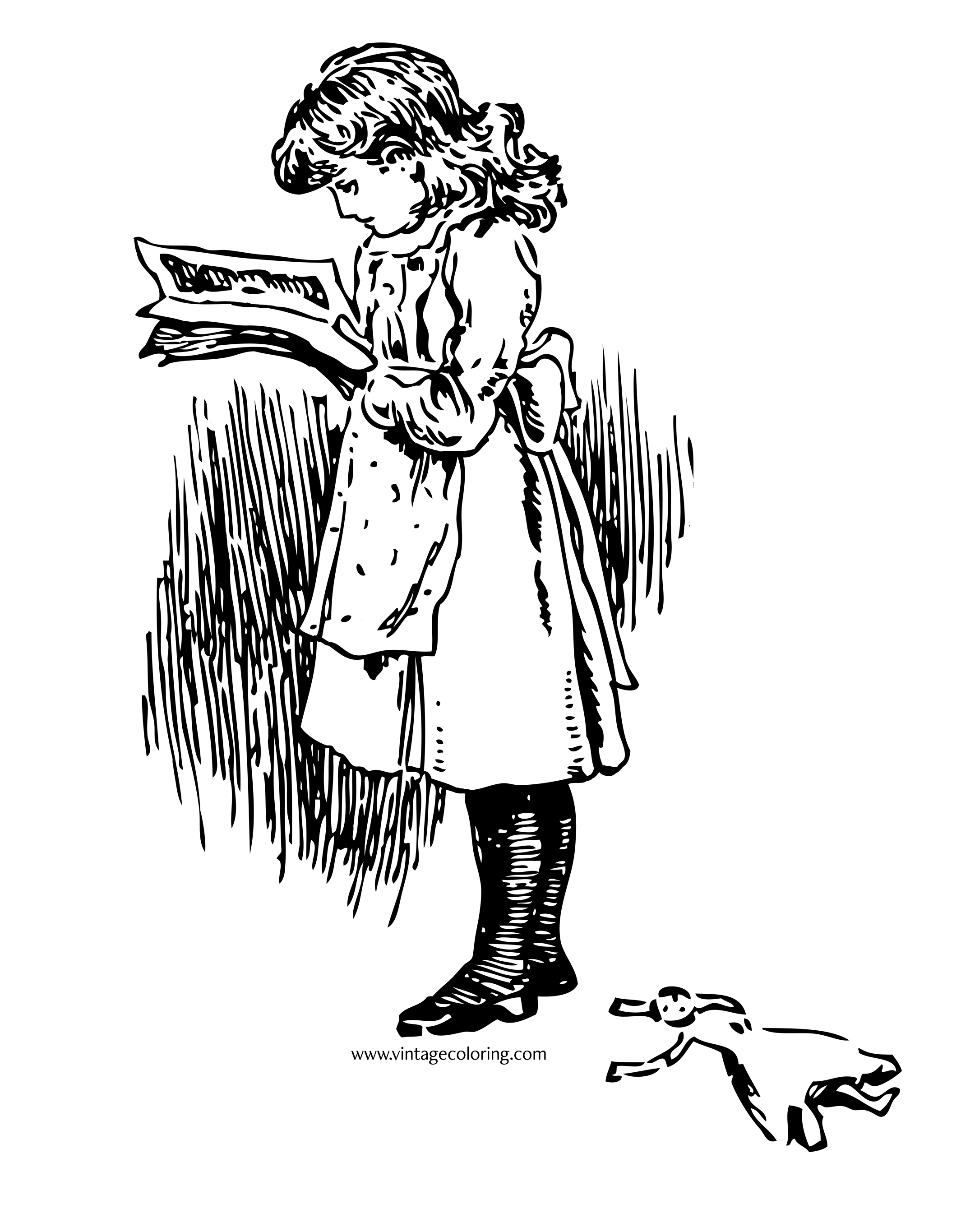 girl reading coloring page girl reading a book free coloring pages coloring pages reading coloring girl page