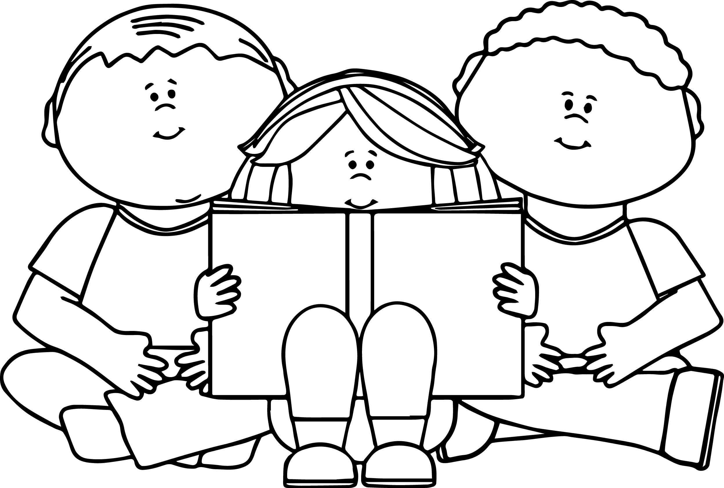 girl reading coloring page girl reading book coloring page stock vector izakowski page reading girl coloring
