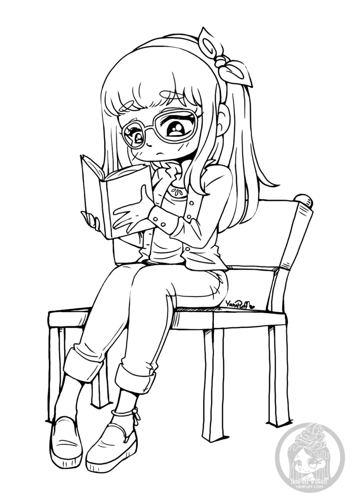 girl reading coloring page little girl reading coloring page coloringcrewcom coloring page girl reading