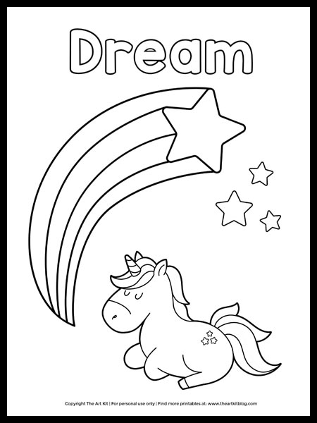go away unicorn coloring pages 1 cute free printable dream sleeping unicorn coloring pages go coloring unicorn away