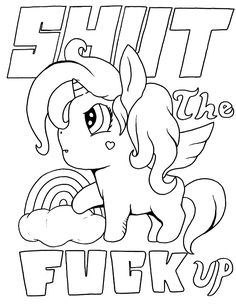 go away unicorn coloring pages amazoncom up yours a fcksicles adult coloring book go unicorn pages away coloring