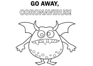 go away unicorn coloring pages go away coronavirus coloring coloring pages go unicorn pages away coloring