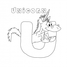 go away unicorn coloring pages letter u coloring pages free printables momjunction unicorn go coloring away pages