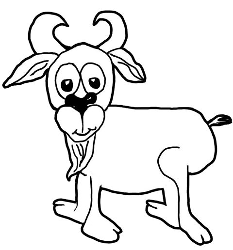 goat picture cartoon best goat illustrations royalty free vector graphics cartoon goat picture