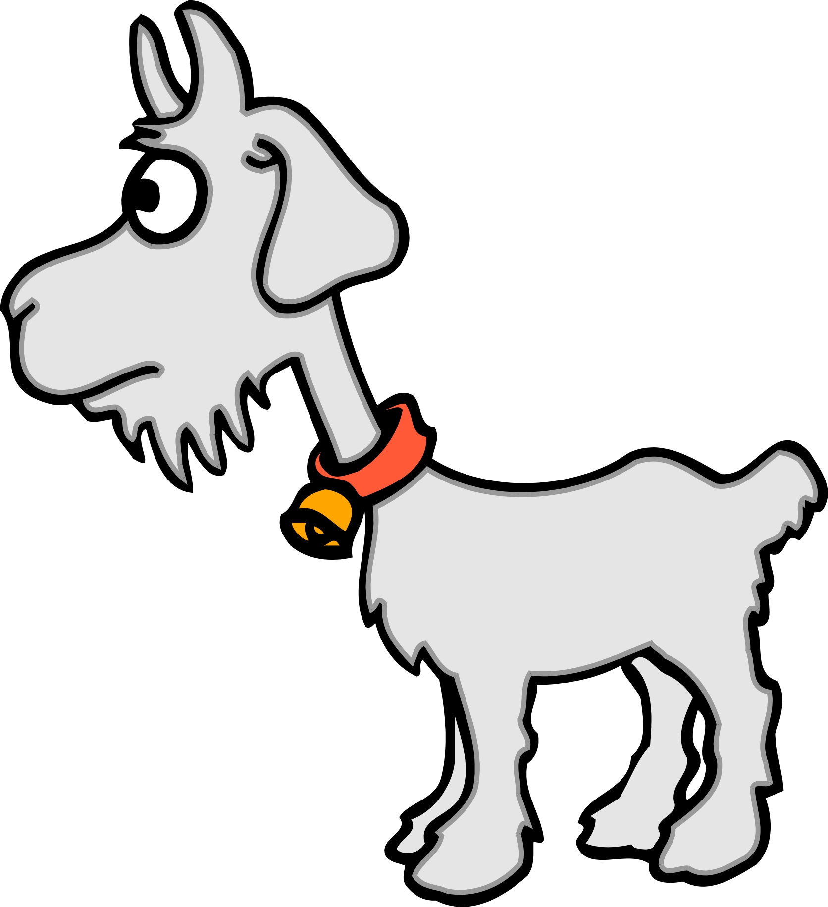 goat picture cartoon cartoon goat drawing at getdrawings free download cartoon goat picture