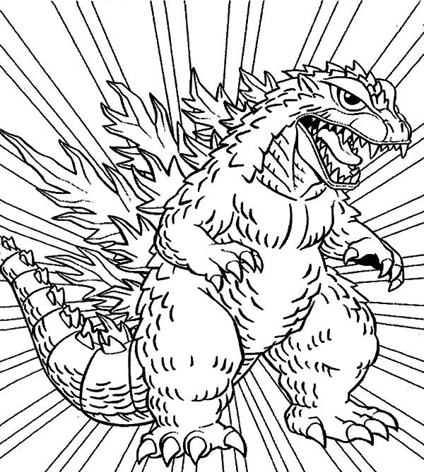 godzilla coloring pictures free printable godzilla coloring pages for kids godzilla pictures coloring