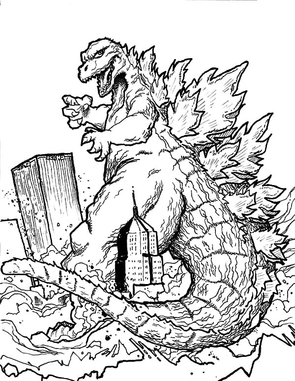 godzilla coloring pictures get this preschool godzilla coloring pages to print drx0j godzilla pictures coloring