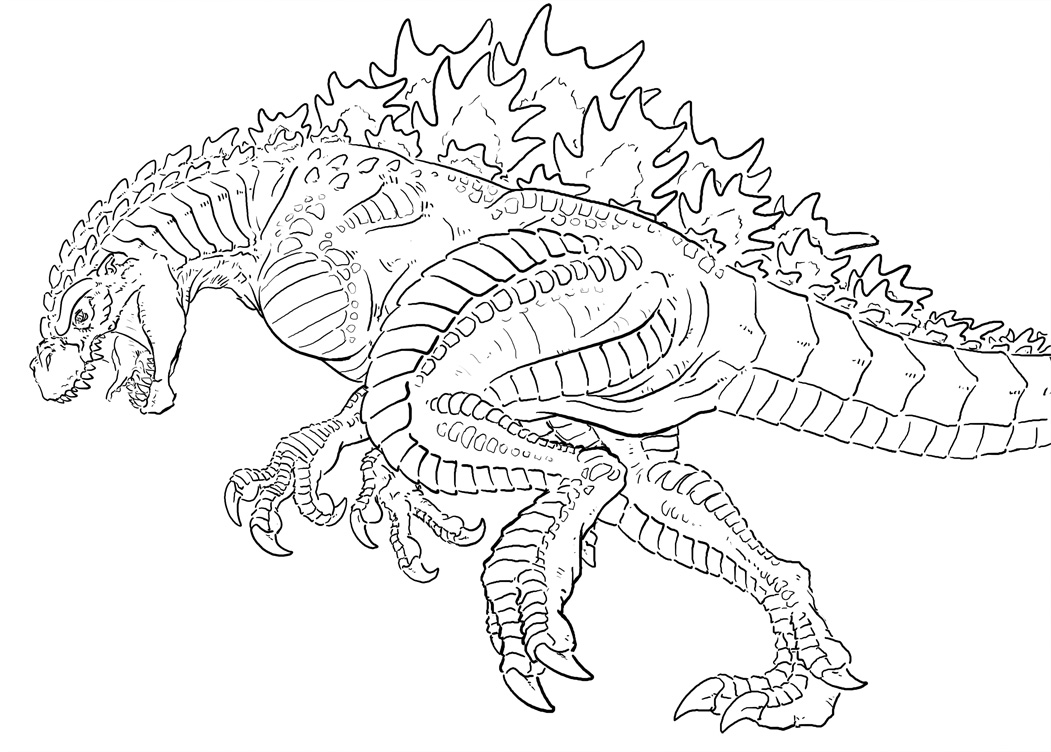 godzilla printable coloring pages get this printable image of godzilla coloring pages upiui godzilla printable pages coloring