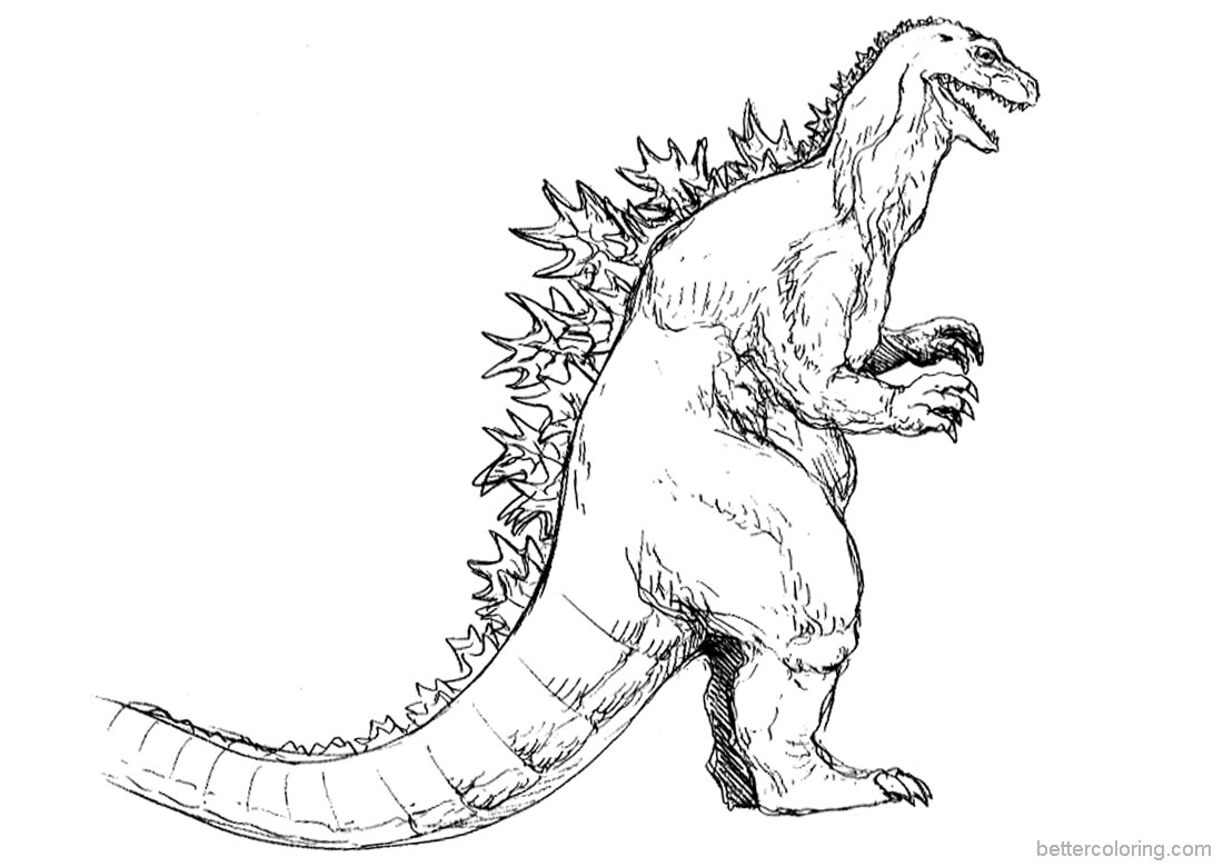 godzilla printable coloring pages godzilla coloring pages to download and print for free printable coloring godzilla pages
