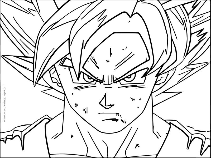 goku face coloring pages goku drawing step by step at getdrawings free download pages coloring face goku