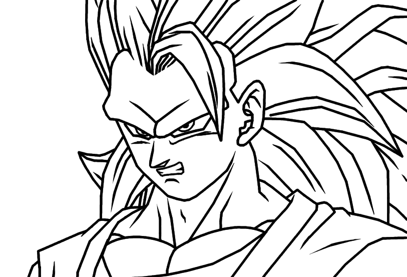 goku face coloring pages goku we coloring page 394 wecoloringpagecom face pages goku coloring