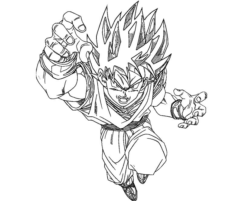 goku printable coloring pages 50 best super saiyan goku coloring pages images on printable goku pages coloring