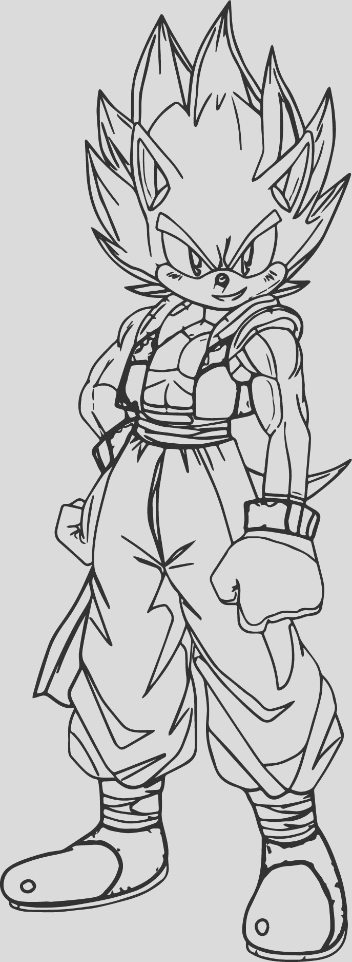 goku printable coloring pages dragon ball gt goku super saiyan 4 coloring pages printable goku coloring pages