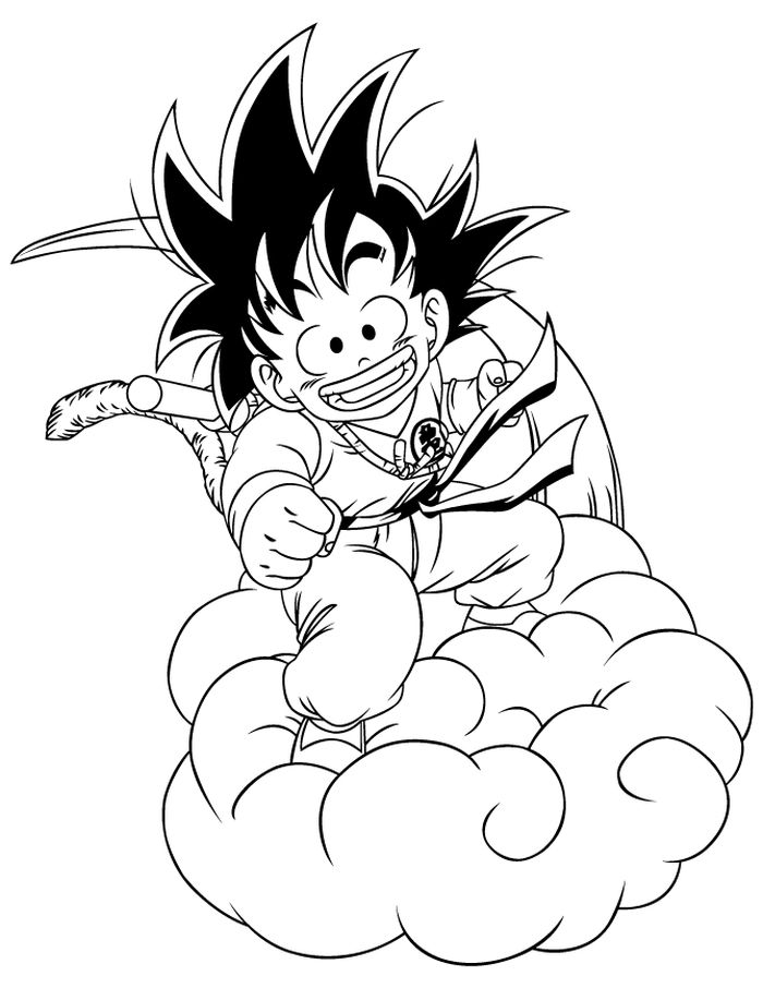 goku printable coloring pages goku coloring pages to download and print for free goku coloring printable pages