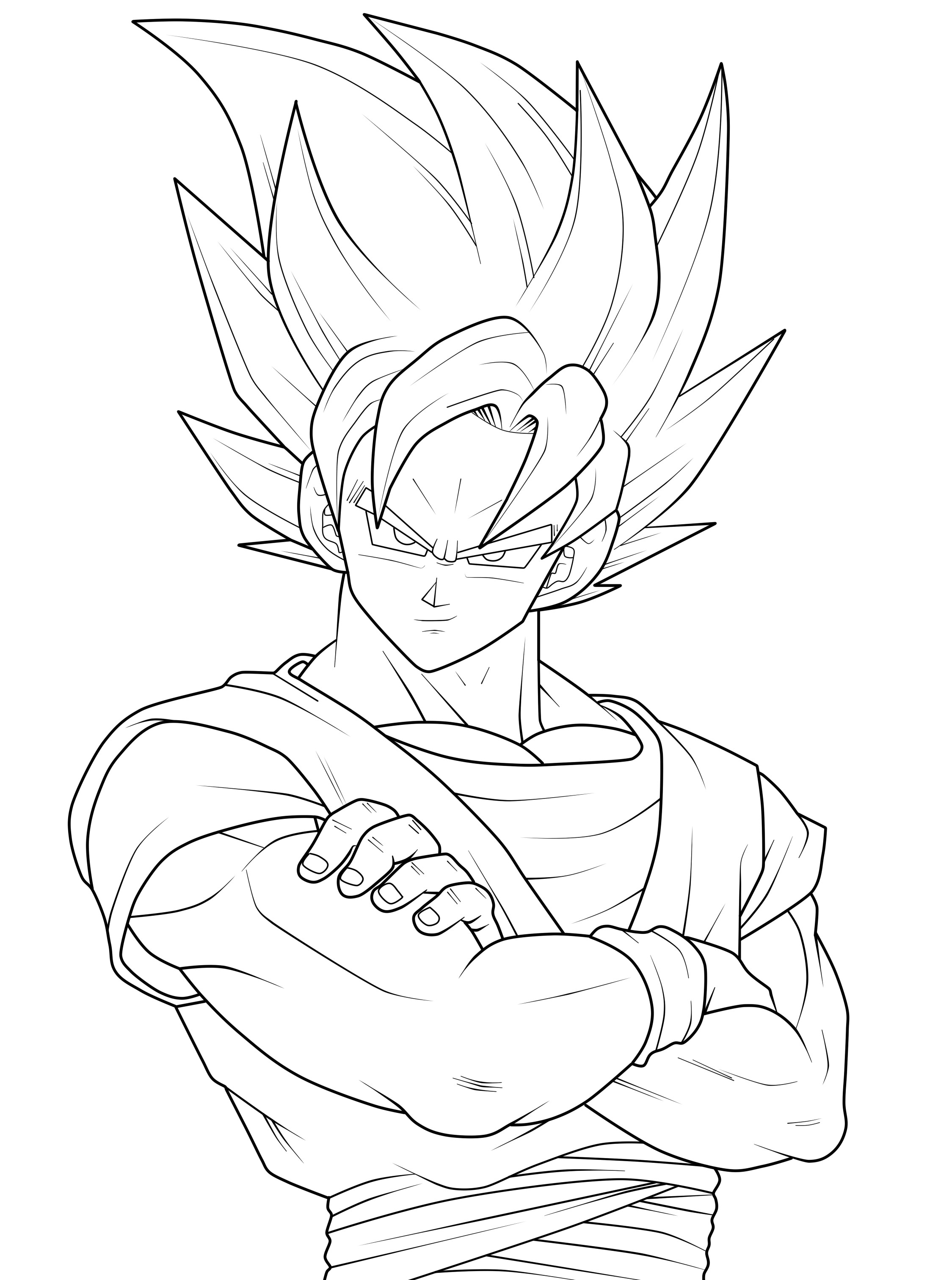 goku vs vegeta coloring pages vegeta and goku coloring pages at getdrawings free download vs goku coloring vegeta pages