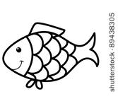 goldfish outline fish outline 32 outlines of terrific printable fish free outline goldfish