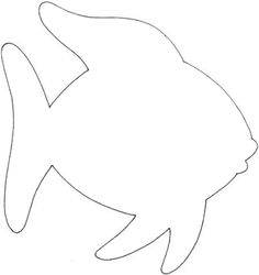 goldfish outline goldfish outline and coloring picture with interesting facts outline goldfish
