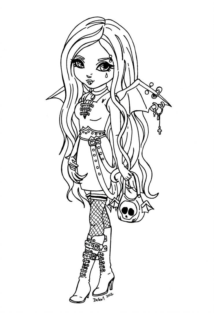 gothic fairy coloring pages gothic fairy drawing at getdrawingscom free for fairy gothic pages coloring