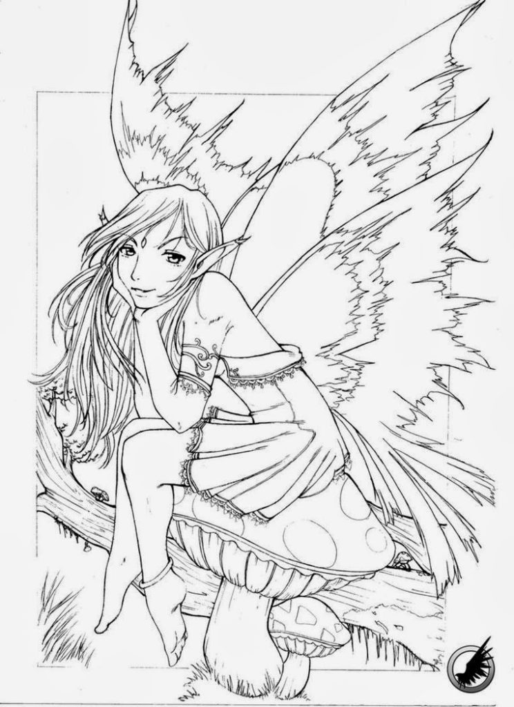 gothic fairy coloring pages gothic fairy for krazykut by emilywarrenart on deviantart pages fairy gothic coloring