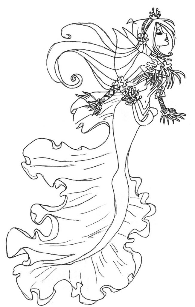 gothic fairy coloring pages gothic fairy sketches at paintingvalleycom explore coloring fairy pages gothic