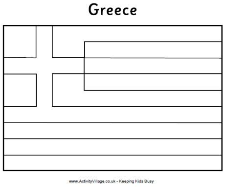 greek flag colouring page flag of greece color page 1001coloringcom greek page flag colouring